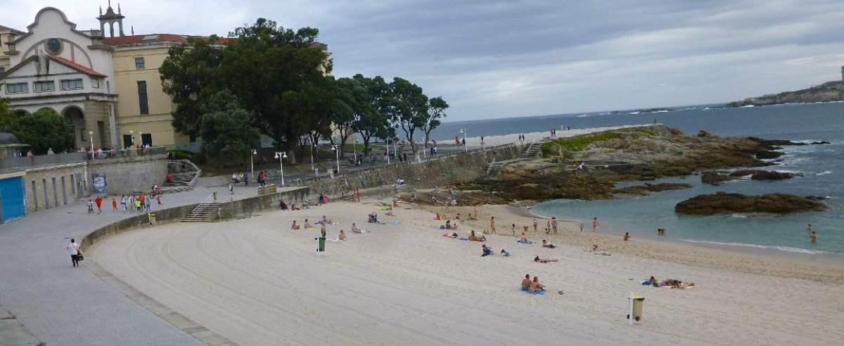 plaża musieli uciekać
