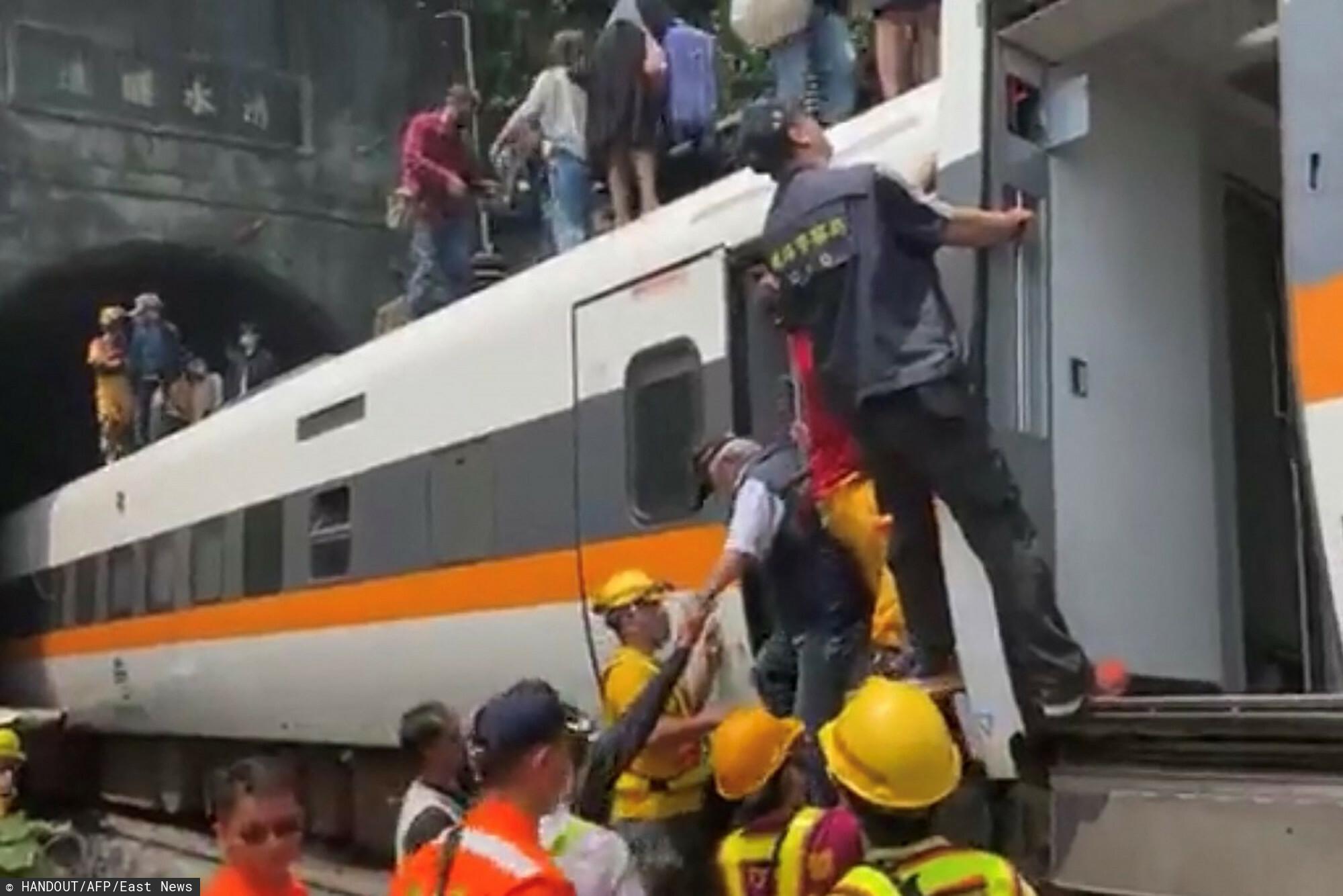 pociąg w tajwanie