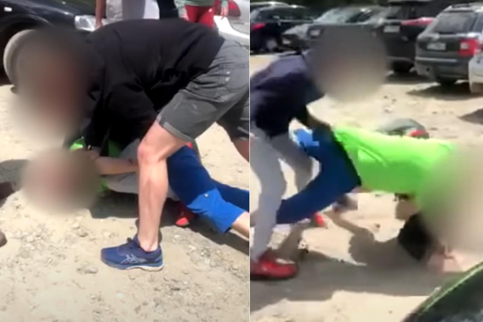 Turyści pobili się o miejsce parkingowe do Morskiego Oka