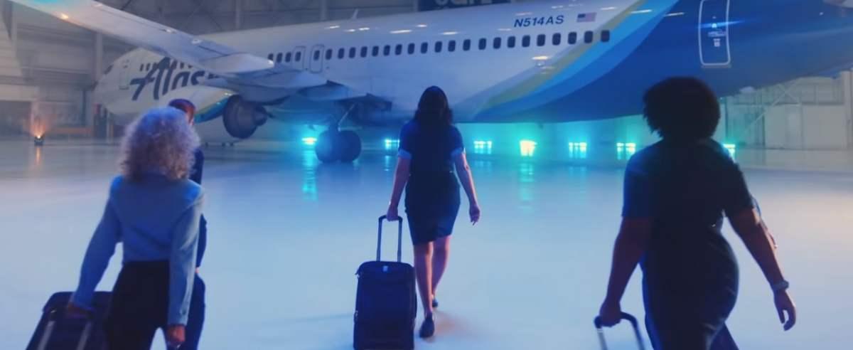 Linie lotnicze przygotowały nagranie