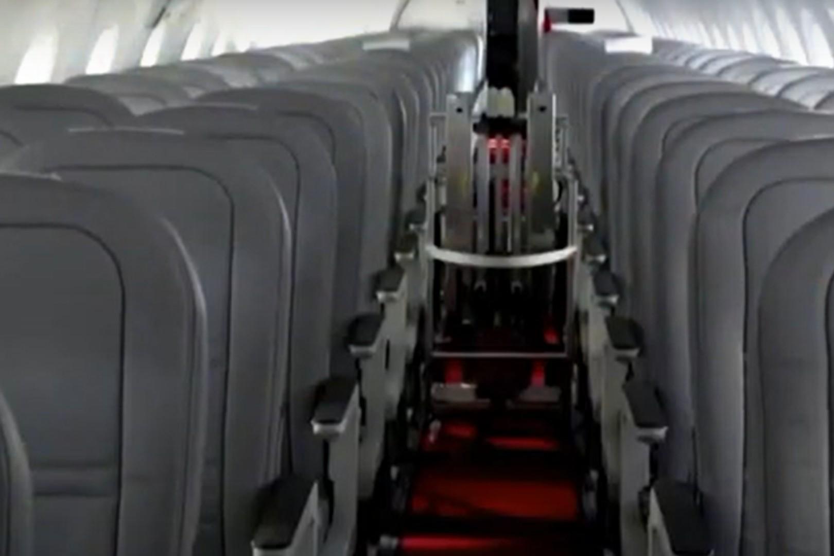 Samoloty mogą być dezynfekowane w 13 minut
