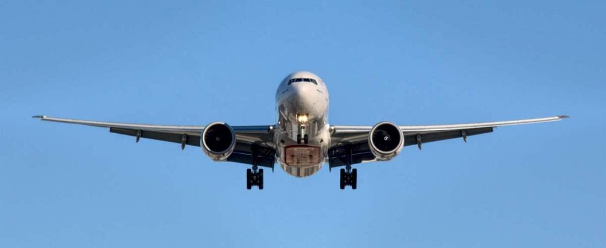 Utrudnione lądowanie samolotu