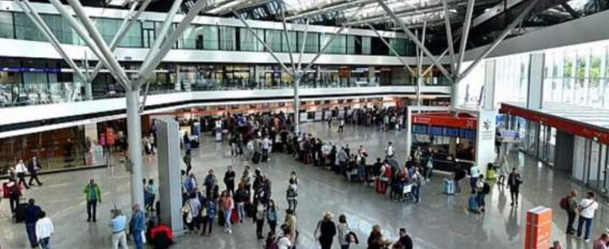 Ewakuacja lotniska Chopina