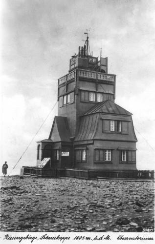 Stare obserwatorium na Śnieżce