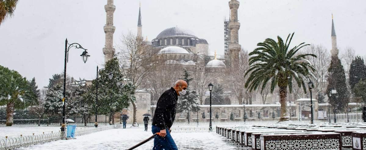 zima w Turcji