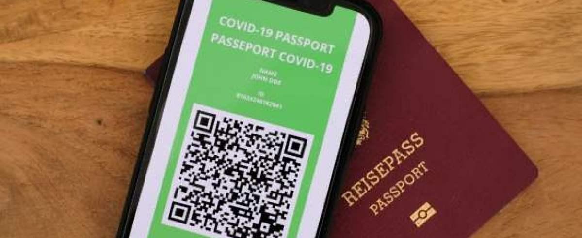 projekt paszportów szczepionkowych jeszcze w marcu