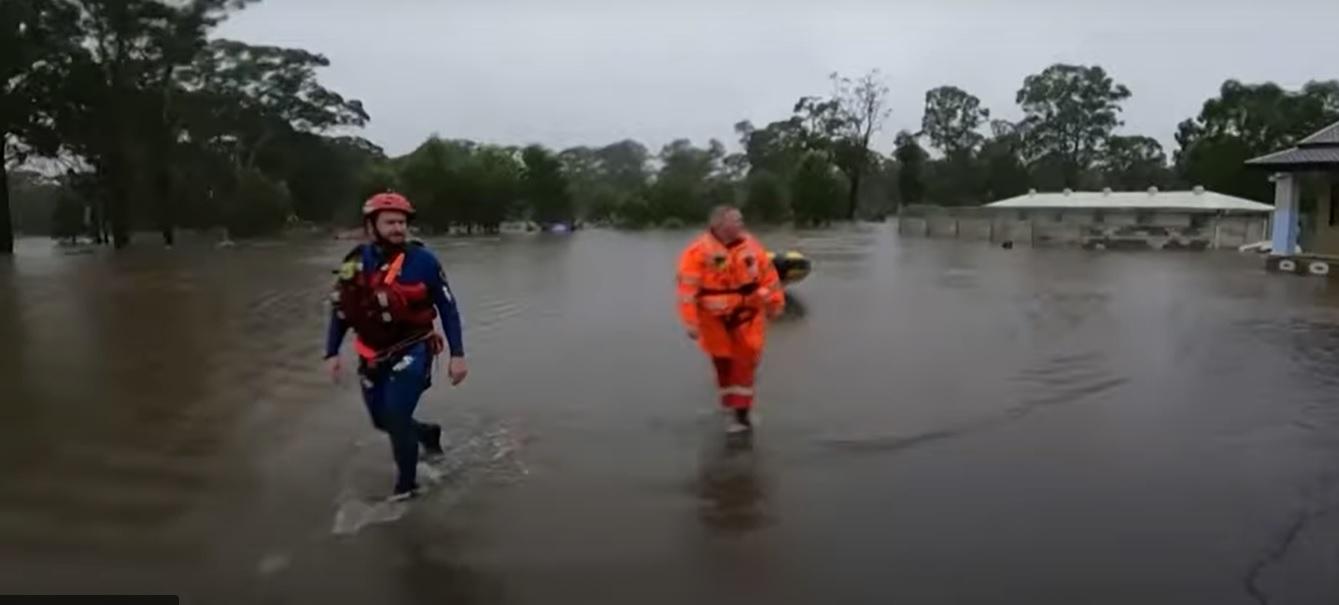 australia powodzie