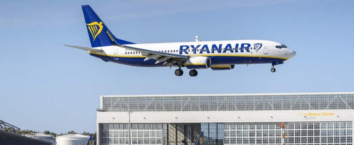 Ryanair złe wieści