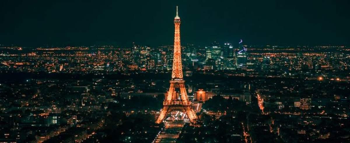 Paryż wieża Eiffel'a
