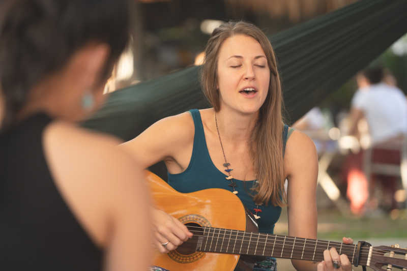 Kirtan Singing by Kate