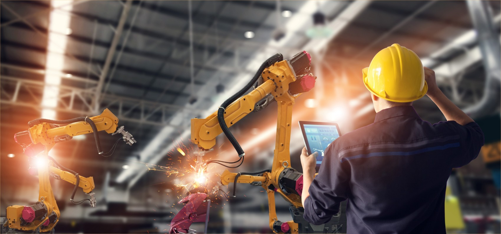Discrete Manufacturing Equipment in Factory