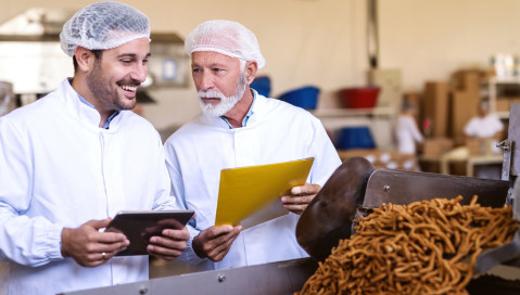 food manufacturers looking at tablet