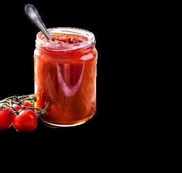Sauce jar