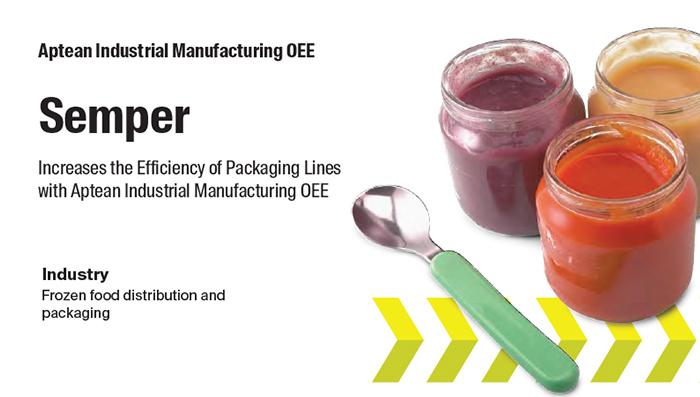 Aptean Industrial Manufacturing OEE Case Study: Semper