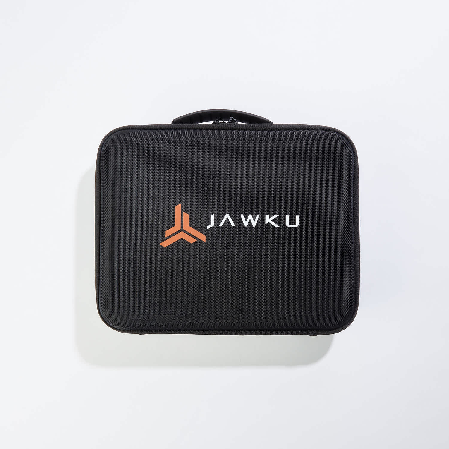 Jawku muscle blaster v2 in a closed case