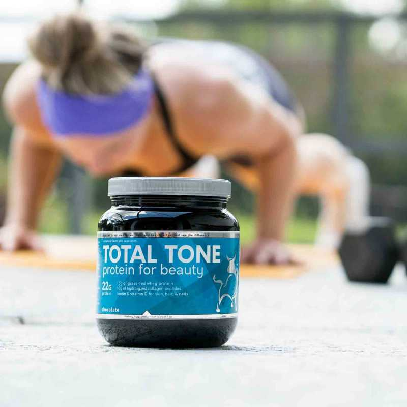 Total tone protein formula for recovery and digestive health