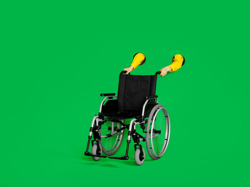 A passenger using a wheelchair does not need to provide a separate certificate to prove their entitlement to a free assistant's ticket.