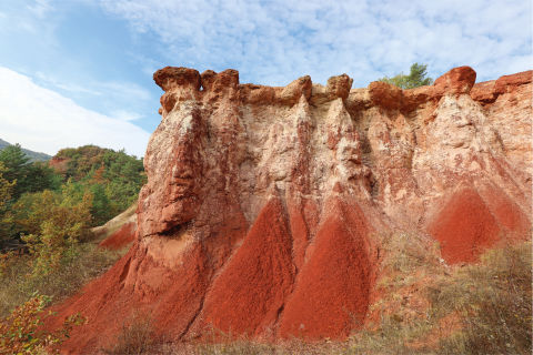 La Vallee Des Saints: The Red Lands Of Auvergne