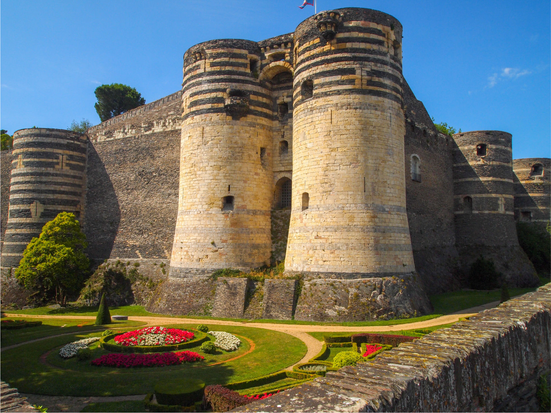 Château d'Angers: impregnable fortress
