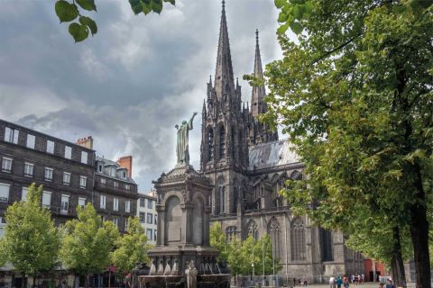 Clermont-Ferrand, the historic center