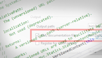Getting the DXA API documentation to display in Visual Studio