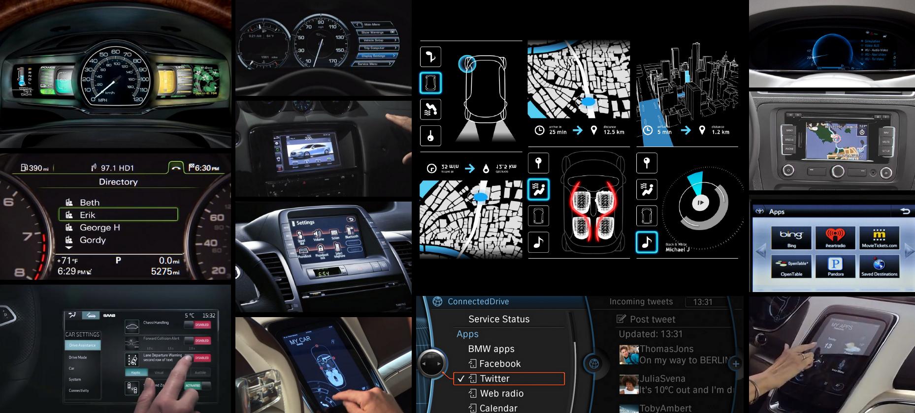 Auto Design Tech: The Near Future Of In-car HMI