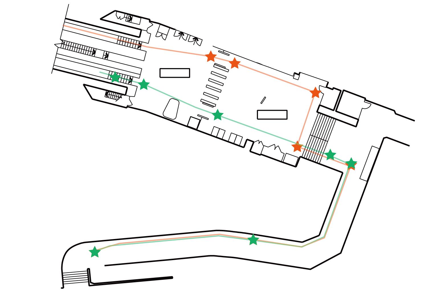pimlico map
