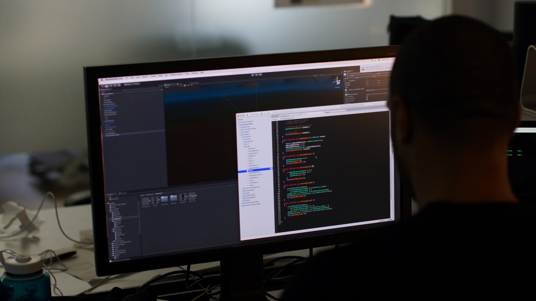 Unity editor-1800x1013