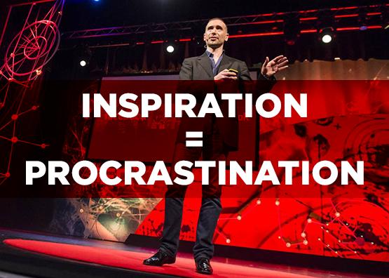 Inspiration-Procrastination