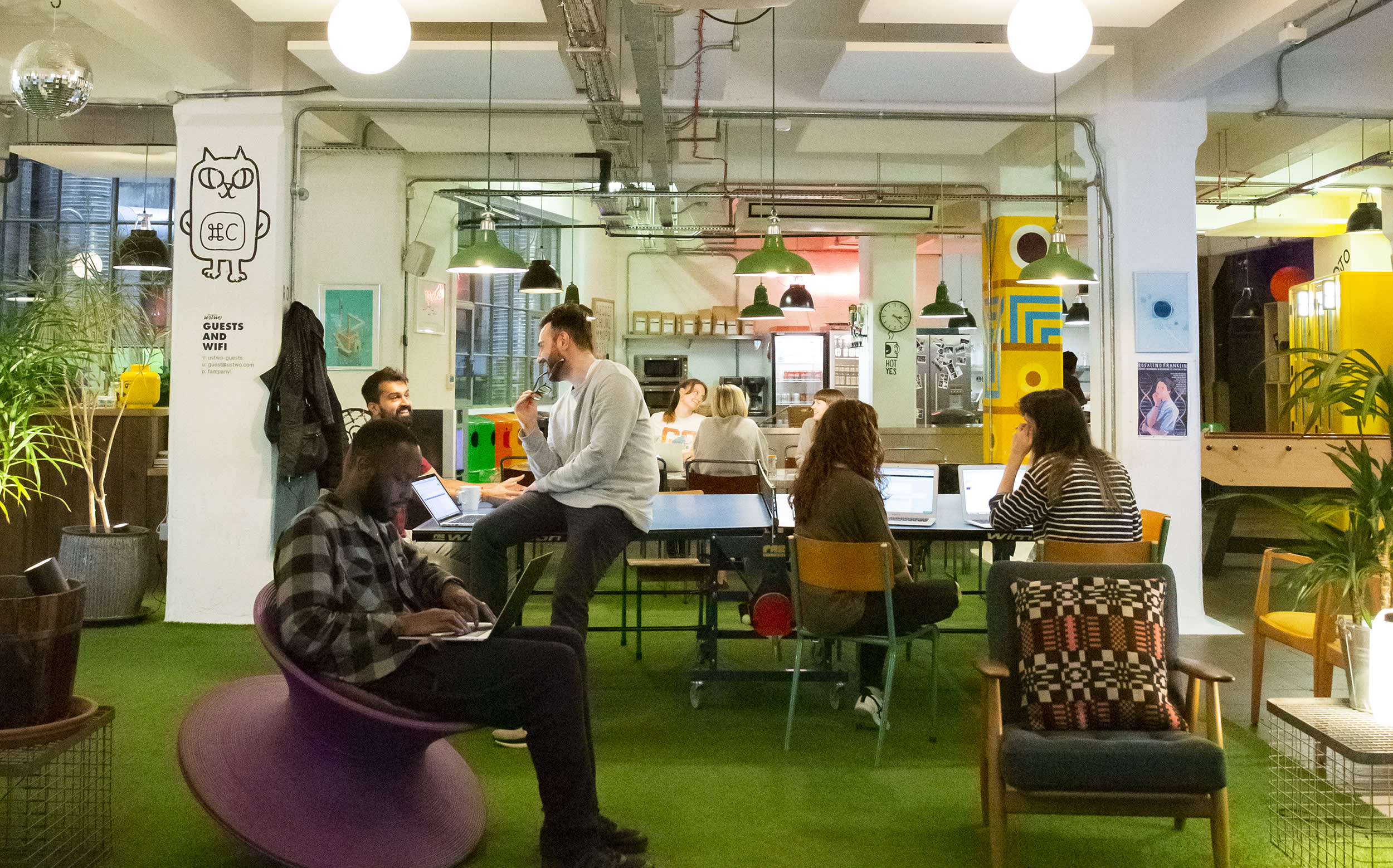 Life in the ustwo London studio