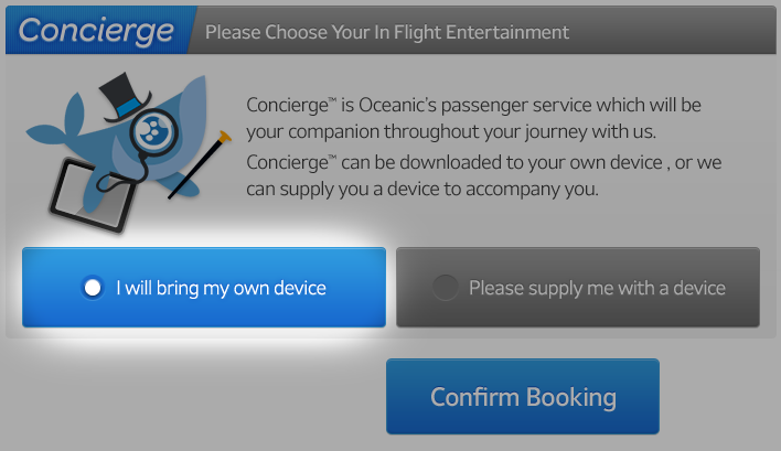 OceanicConciergeBooking