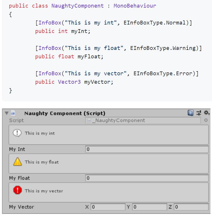 Infobox attribute Example