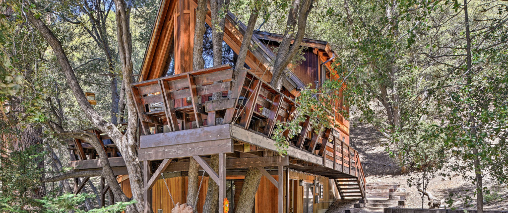 Vrbo treehouse northern california