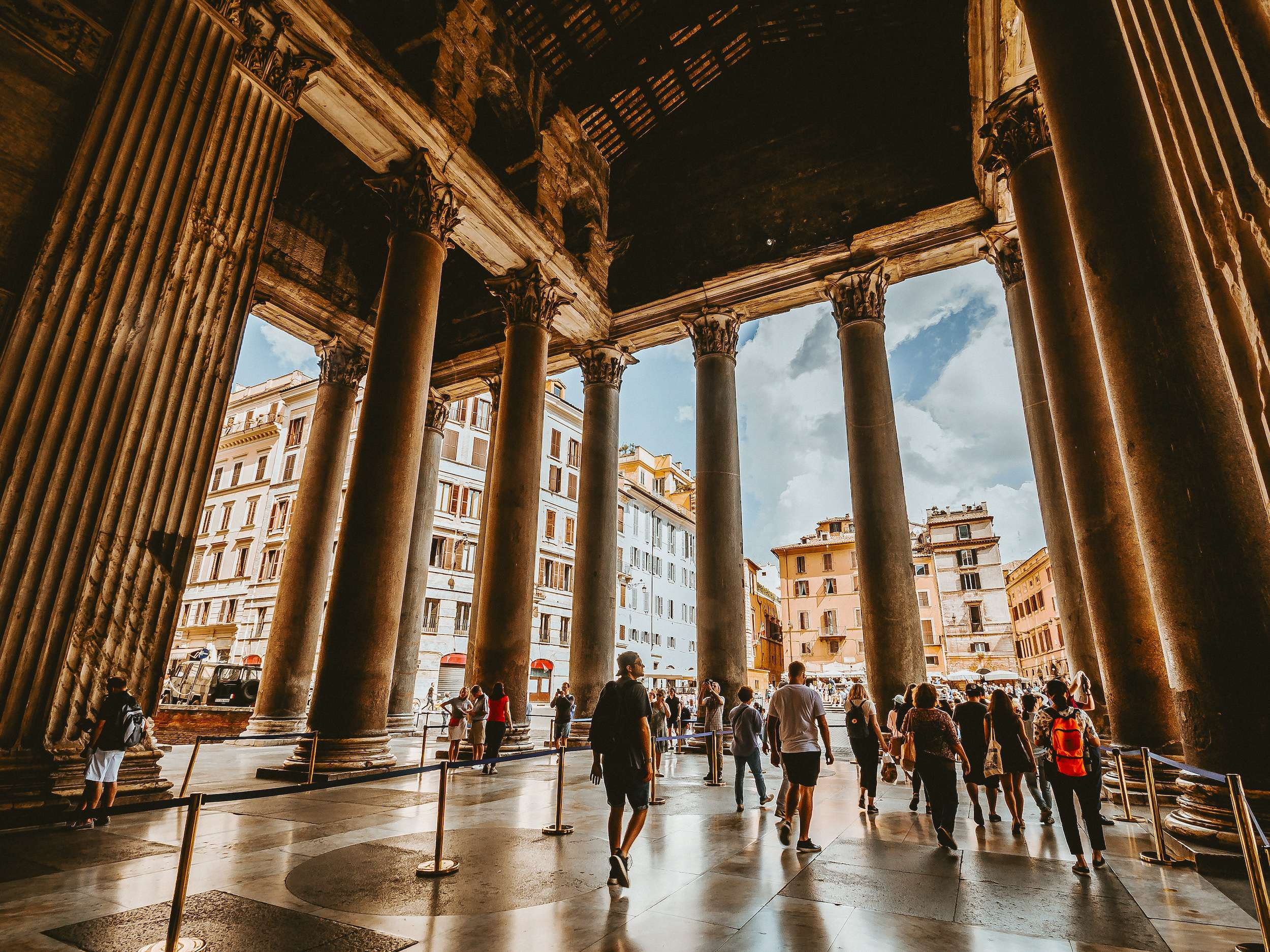 Pantheon in Rome a holiday destination in Italy