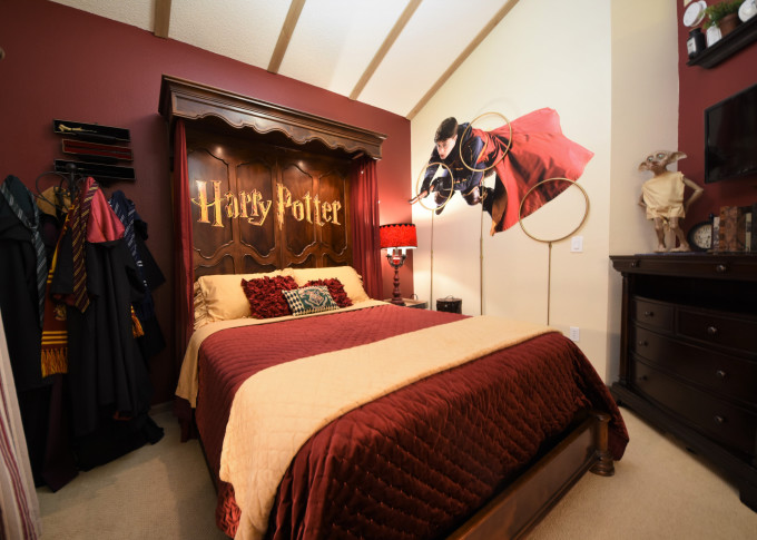 Celebrate The Magic Of Harry Potter In These Homes Available To