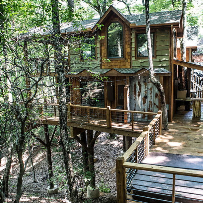 The Charms Of Treehouse Cabins Vrbo