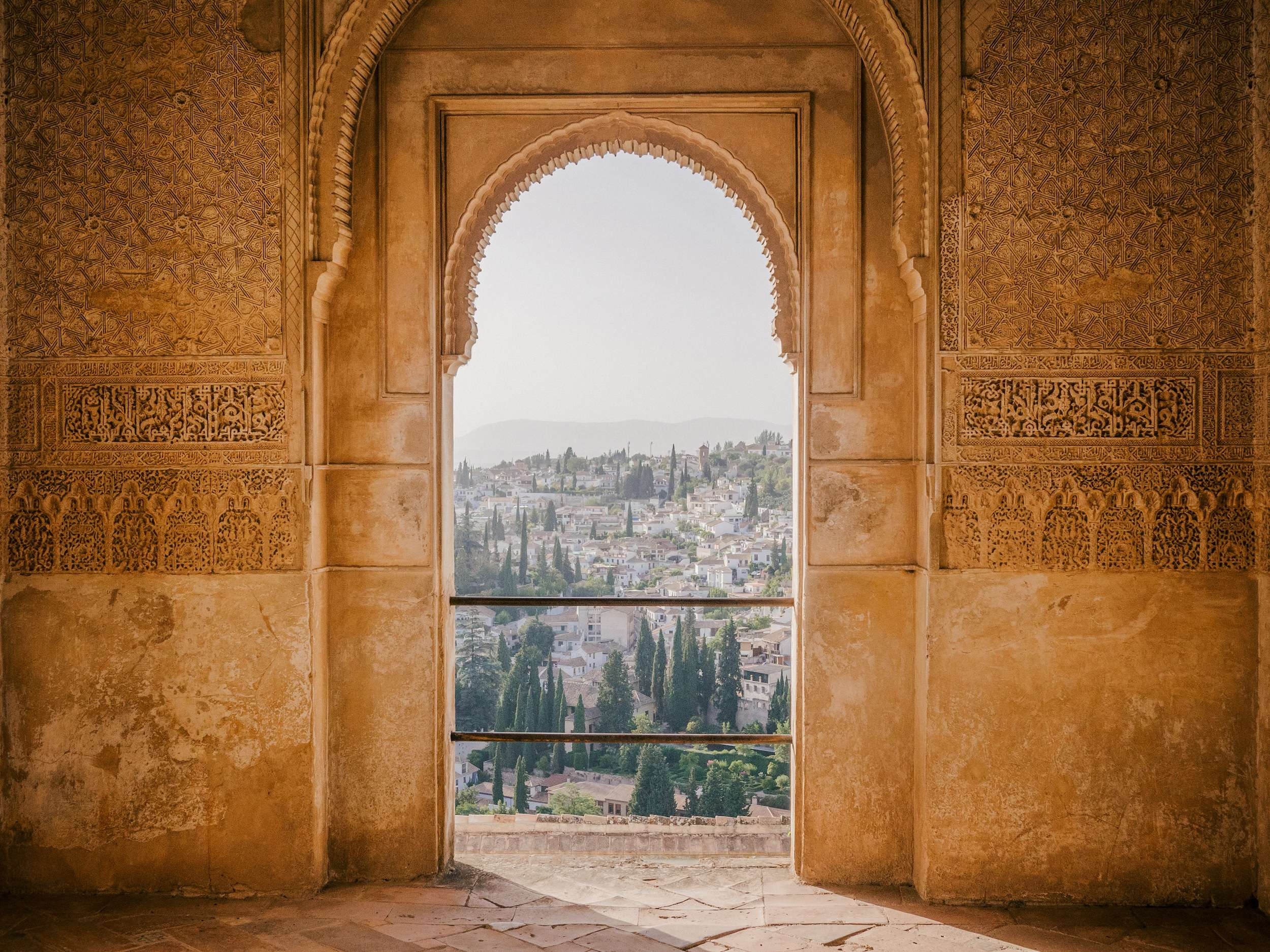 The Alhambra a holiday destination in Granada, Spain