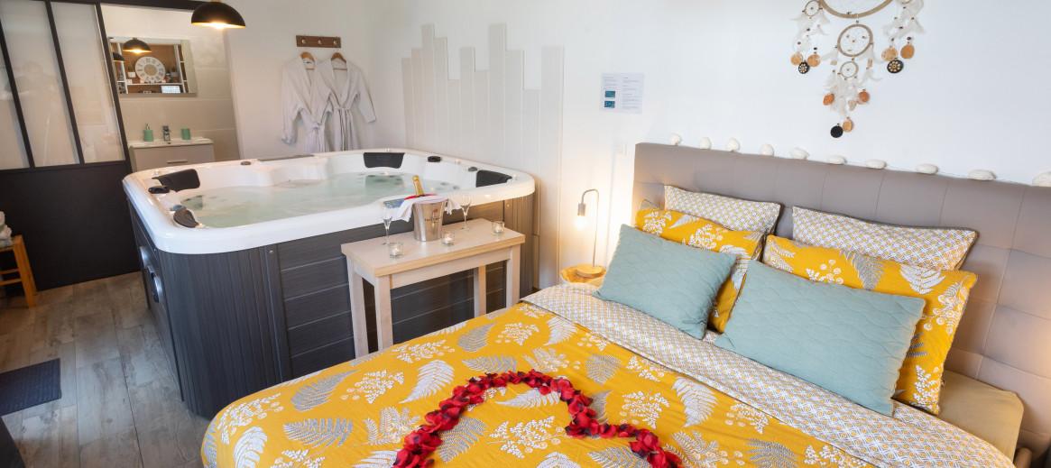 Chambre avec jacuzzi privatif en Île de France | Abritel