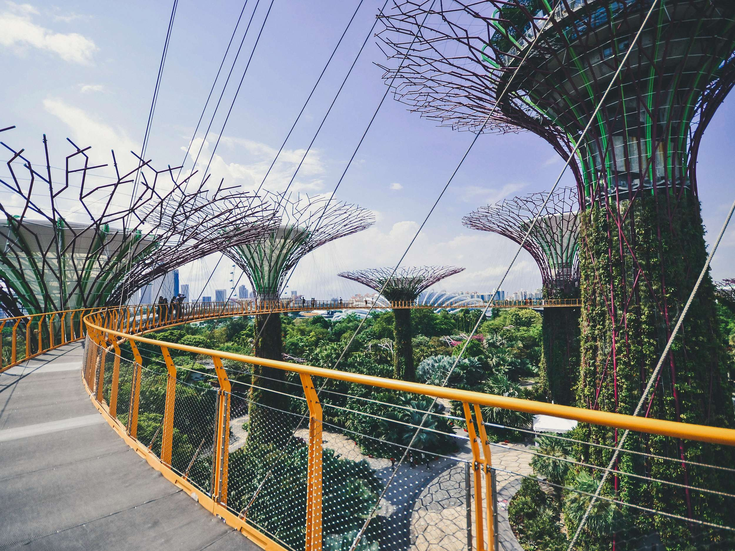 Gardens by the Bay a holiday destination in Singapore