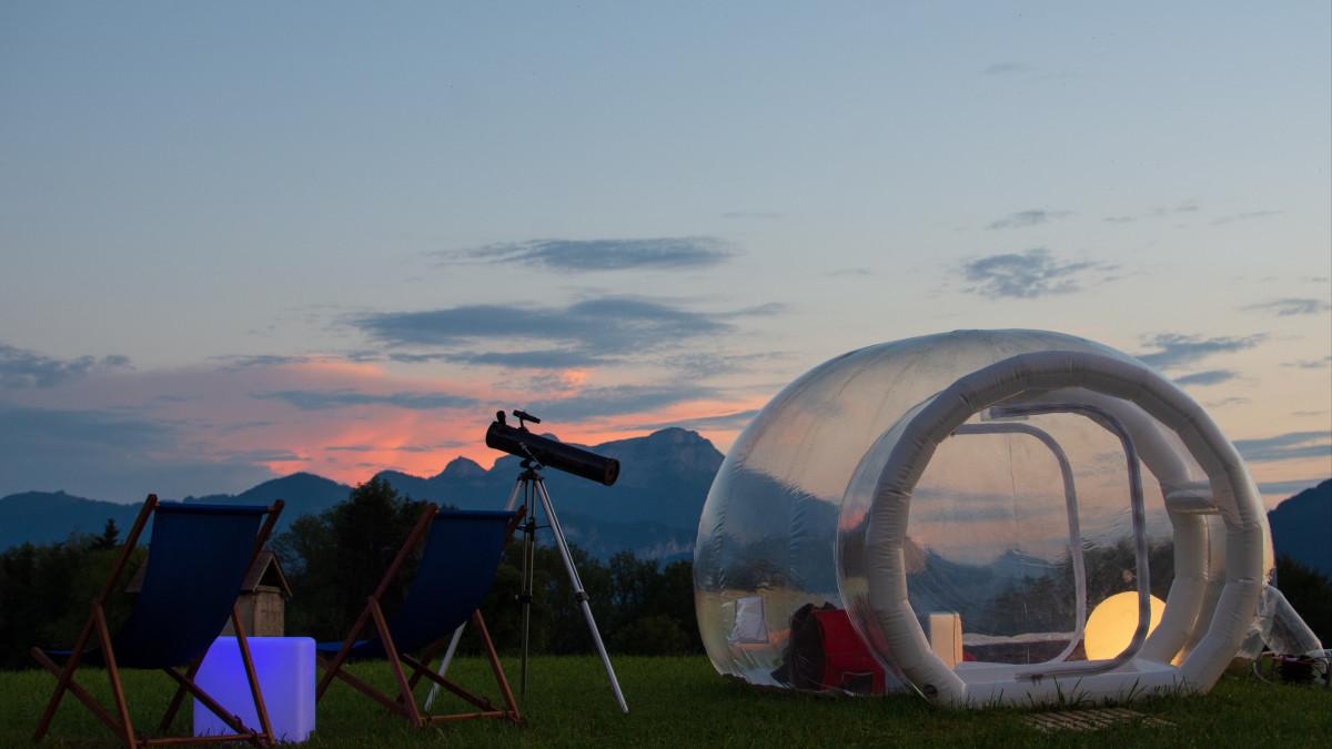 Week End Bulle Transparente Bretagne où passer une nuit insolite dans une bulle ? | abritel
