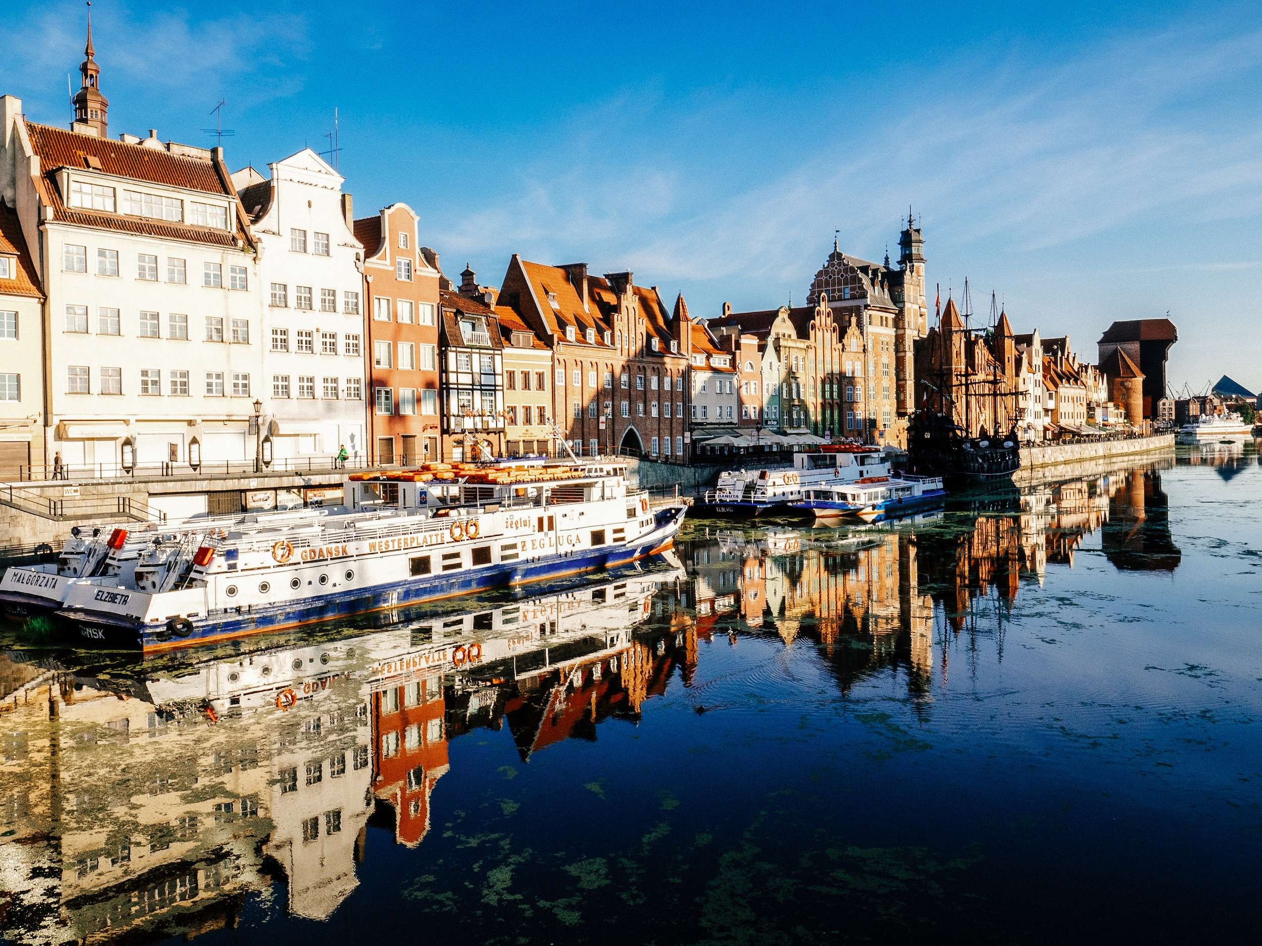 Gdansk a holiday destination in Poland