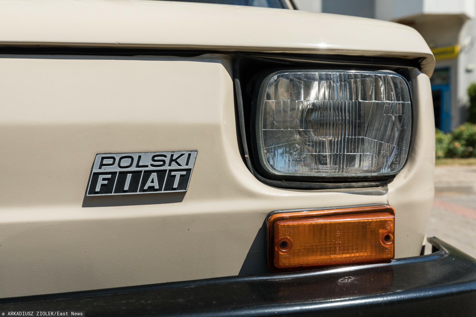 """Polski Fiat 126, zwany potocznie """"maluchem"""" zmotoryzował nasz kraj. ARKADIUSZ ZIOLEK/East News"""