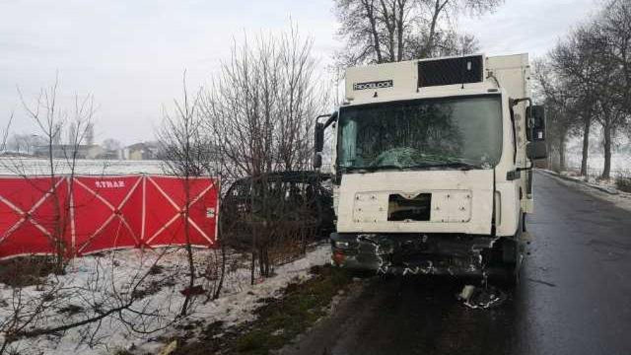 Wypadek na Mazowszu. Dwie osoby zginęły