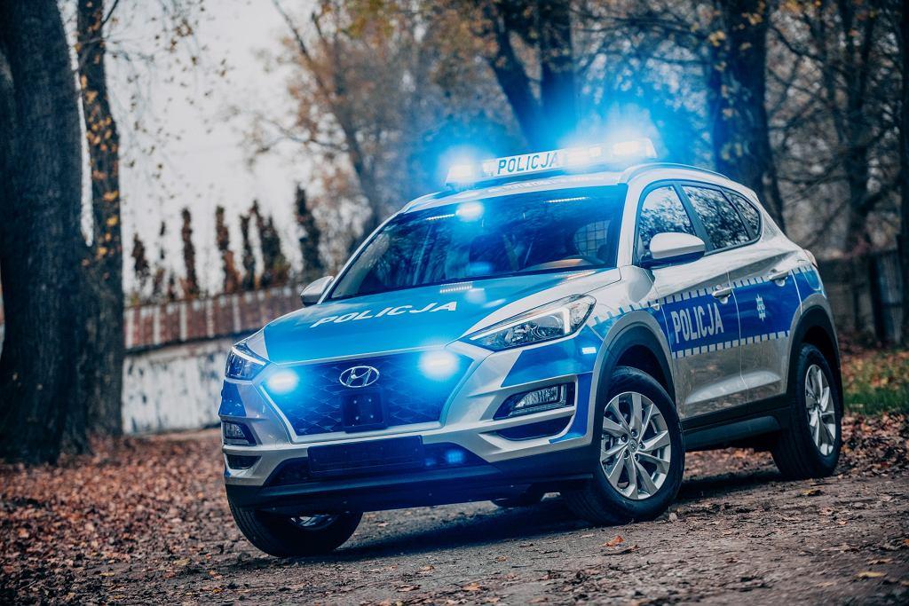 Policja Hyundai Tucson