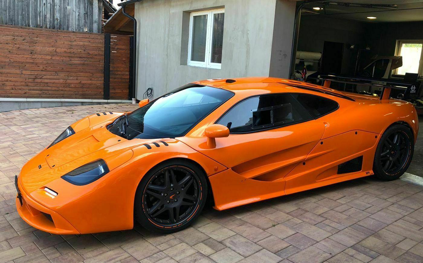 McLaren F1 wykonany z Porsche Boxter