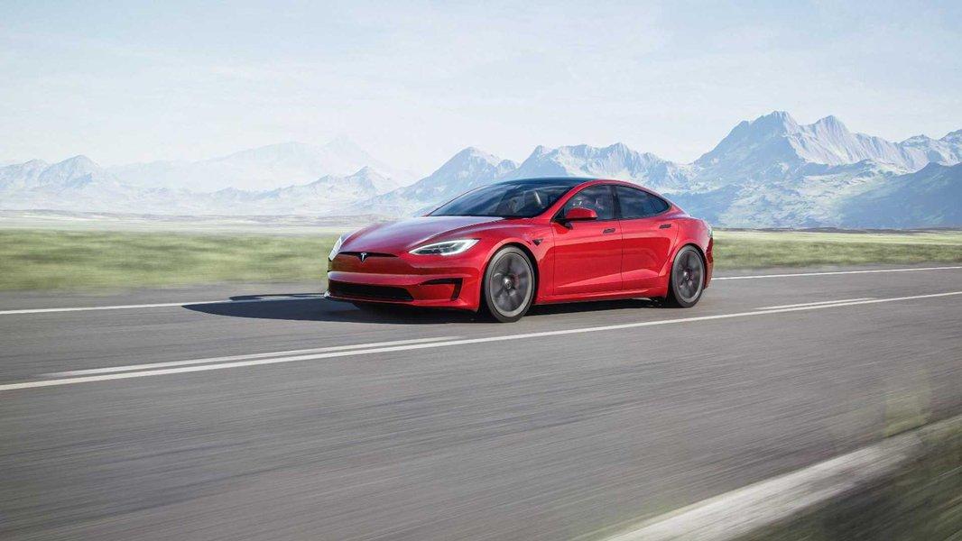 Tesla Model S facelifting 2021