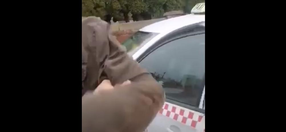 Taksówkarz obywatelskie zatrzymanie