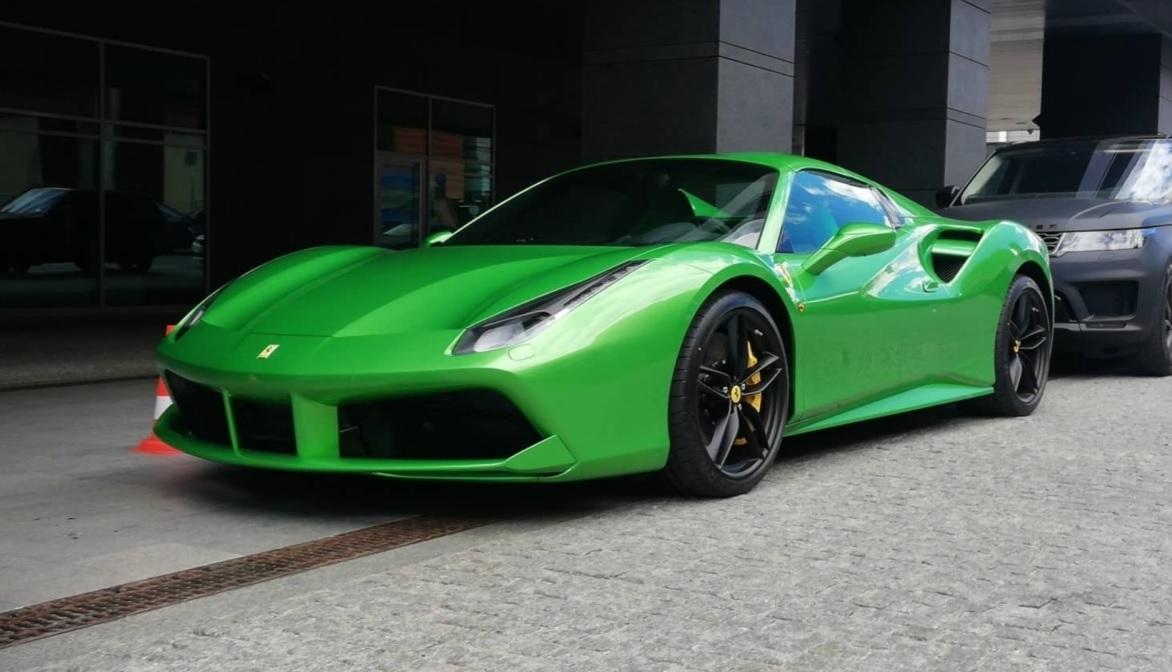 Ferrari skradzione w Mielnie