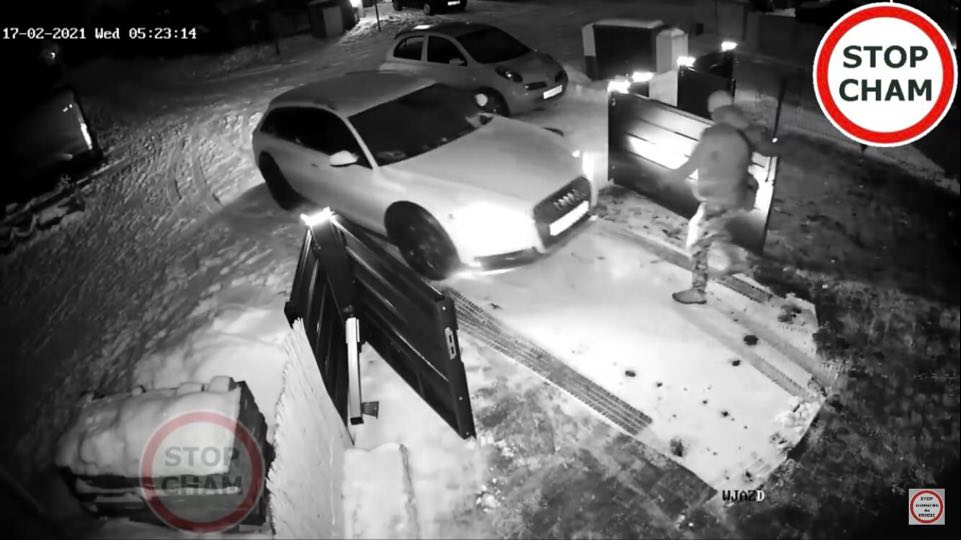 Kradzież samochodu