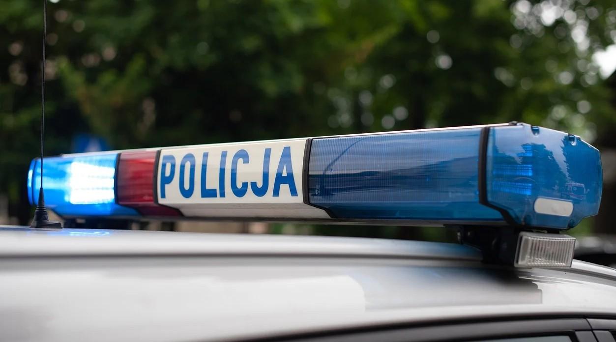 Wypadek sygnały policji